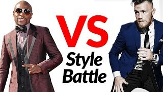 Floyd Mayweather vs. Conor McGregor Style Fight | Who's The Sharper Dresser?