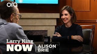 Alison Brie: James Franco stayed in character while directing | Larry King Now | Ora.TV