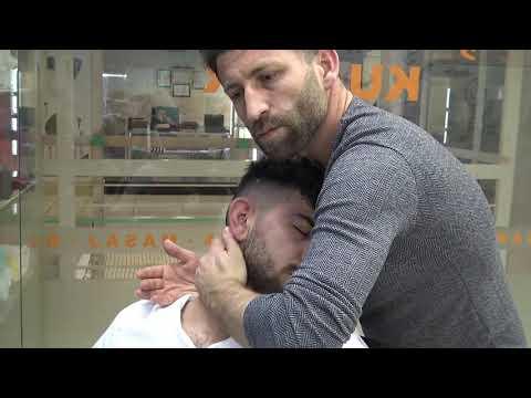 Xxx Mp4 ASMR Turkish Barber Massage ARM FACE BACK HEAD MASSAGE Kafa Sırt Kol Yüz Masaj ı SLEEP MASSAGE 3gp Sex