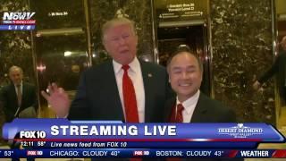 WATCH: Donald Trump Meets With SoftBank Chairman Masayoshi Son