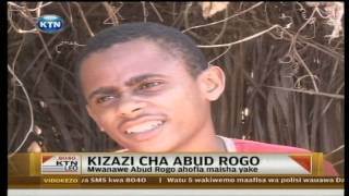Mwanawe Aboud Rogo ahofia maisha yake