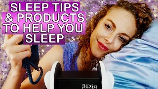 Sleepytime ASMR ♥ 3Dio Ear to Ear Whisper, Sleep Tips for Relaxation, Silk Fabric Sounds,