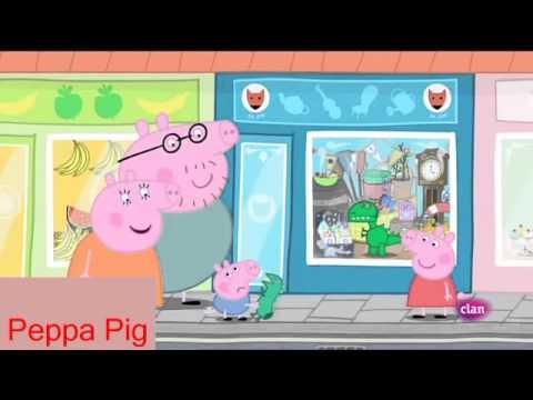 Peppa pig Castellano Temporada 4x17 El dinosaurio nuevo de George