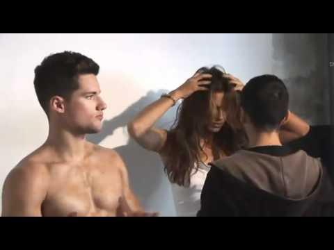 FANDELFUTBOL Making Off XTI de Irina Shayk Spring Summer 11