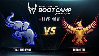 ROV : World Cup 2018 (Group Stage) Day 4 THwc Vs ID