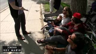 Giving Back To The Homeless Using Magic Part 1