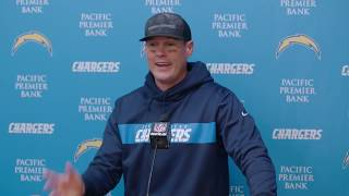 Chargers LIVE: Philip Rivers speaks to the media following our victory over the Chiefs