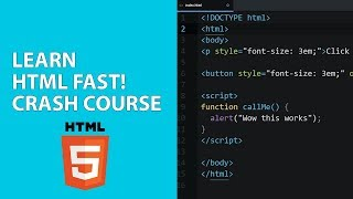 [2018] Learn HTML for Beginners Crash Course: Intro