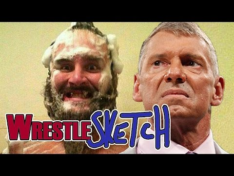 How WWE Deals With Sex Tape Hacks… | WrestleSketch #18