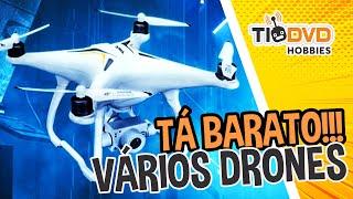 DRONES JJRC X9 HERON X6 AIRCUS SJRC F11 JJRC MUITO BARATO NA BANGGOOD E VÁRIOS OUTROS