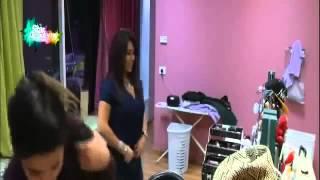 جلسة make up مع جيهان الجزء الأول   الثلاثاء 4 11 2014