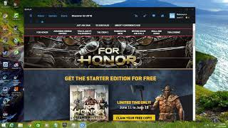 For Honor Starter Edition is Free right now ON UBISOFT