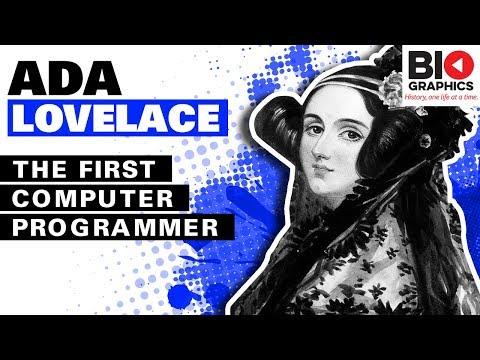 Xxx Mp4 Ada Lovelace The First Computer Programmer Ada Lovelace Biography 3gp Sex