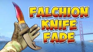 CS:GO - Falchion Knife Fade Gameplay