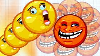 Agar.io Trolling Face Skin Funny Fails 100,000+ Mass Epic Agario Gameplay!