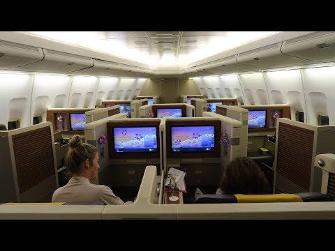 Thai Airways Boeing 747 First Class Bangkok to Munich unpleasant surprise