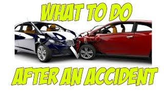 What Do I Do If I Get Into A Car Accident | Traffic Collision