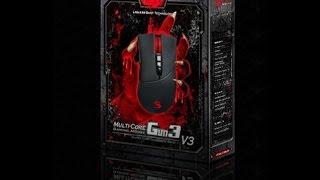 Как настроить компьютерную  мышь Bloody (блади) любой модели,версии,Легко и просто