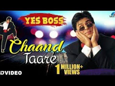 Chand Tare Tod Lau Sari Duniya Par Mai Chau | Lyrical Video | Karaoke | Yes Boss