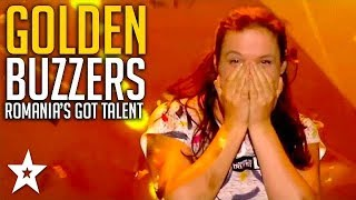 ALL GOLDEN BUZZER Auditions on Romania