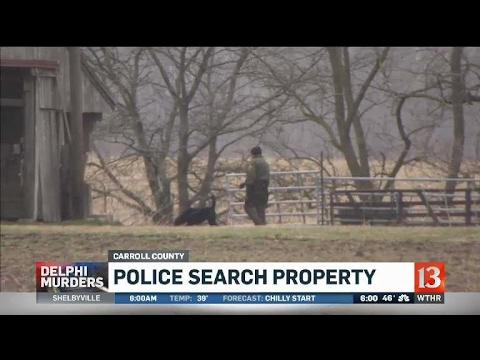Police search Delphi property