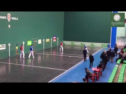 Ugalde - Irusta 08 vs Bakaikoa - Ladis Galarza 22 | Varios tantos