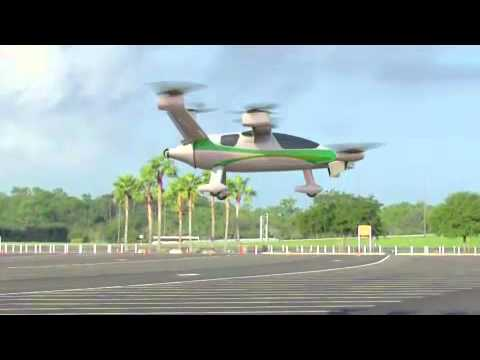 NASA Samarai hybrid electric VTOL personal aircraft concept
