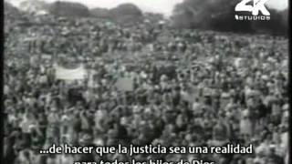 Martin Luther King Jr. - I Have A Dream [Subtitulado Español] [Parte 1/2]
