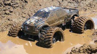 RC ADVENTURES - Muddy Monster Truck & Smoke Show - Chocolate Milk & a Slice of Mud
