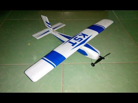 Смотреть как сделать самолет с пультом