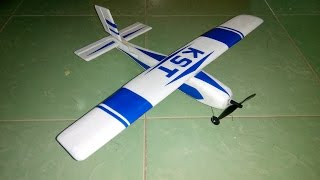 [Tutorial] DIY - How to make airplane RC - airplane remote control