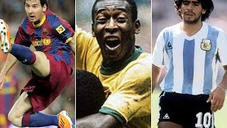 ♦Top 50 Best Footballers of all times HD♦