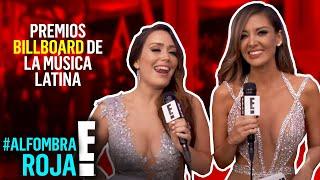 En vivo desde la #AlfombraRojaE! de los Premios Billboard de la Música Latina 2017