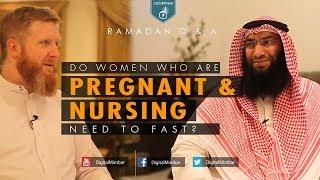 Do Women who are Pregnant & Nursing Need to Fast? | Ramadan Q & A | John Fontain & Ahmed Al-Rumh