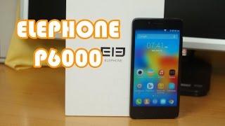 Review Elephone P6000 //Español// El primer 64 bits de elephone!!