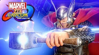 Marvel vs Capcom: Infinite - Story Mode Gameplay (PS4 Pro) @ 1080p (60ᶠᵖˢ) HD ✔