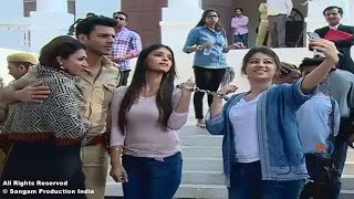 """On Location of Star Plus Tv Serial """"Yeh Hai Mohabbatein"""" Episode Ruhi Sent To Jail"""