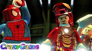 #LEGO MARVEL Super Heroes 100% Guide Complete Walkthrough #10 That Sinking Feeling (Minikit)