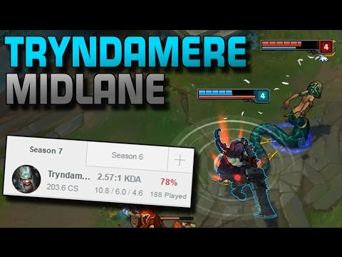Tryndamere Midlane!? | WHY!? [Analyse/Guide] [GER]