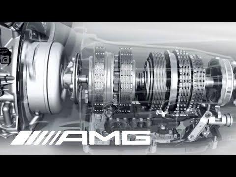 AMG 5.5 liter V8 Biturbo Engine