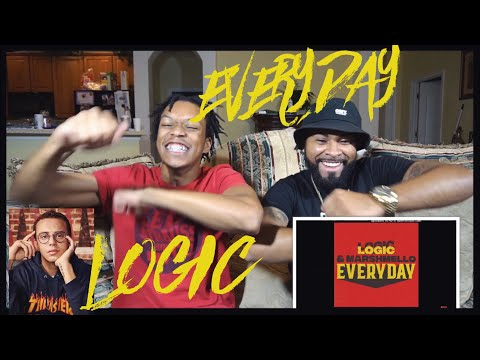 """He's back at it AGAIN!!! Logic & Marshmello - """"Everyday"""" 