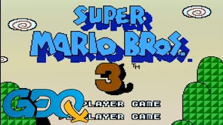 Super Mario Bros. 3 Co-Op with MitchFlowerPower and GrandPOOBear in 1:05:33 - GDQx2018