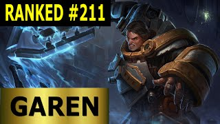 Garen Top - Full League of Legends Gameplay [German] Let's Play LoL - Ranked #211