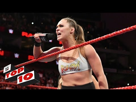 Xxx Mp4 Top 10 Raw Moments WWE Top 10 August 6 2018 3gp Sex
