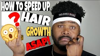 How To CHEAT Hair GROWTH! get Inches ASAP!
