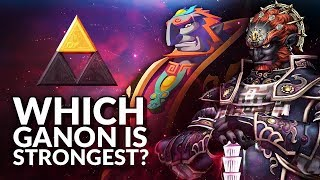 Which Ganondorf is strongest? (Ranking the Ganons from Legend of Zelda)