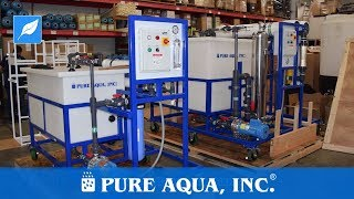 """Mobile RO Membrane Cleaning Station 4"""" and 8"""" 
