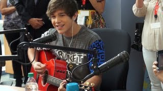 Austin Mahone Hangs Out at the Charlotte Children's Hospital
