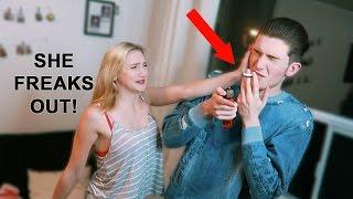 SMOKING CIGARETTE PRANK | Little Sister Breaks Down