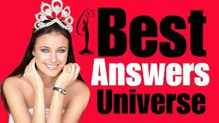 10 BEST ANSWERS in Miss Universe Pageant (1952 - 2014)